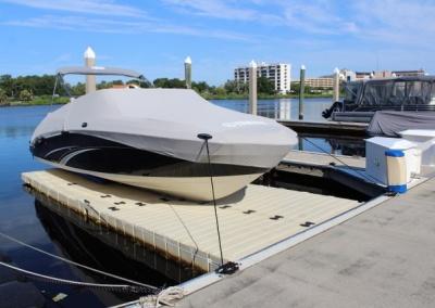 boat port ezdock tampa
