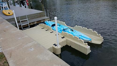 kayak dock ezdocktampa